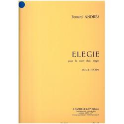 Bernard Andrès, Elégie pour la mort d'un berger