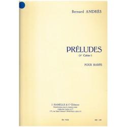 Bernard Andrès, Préludes, 1e cahier