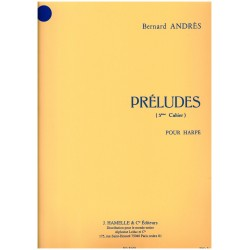 Bernard Andrès, Préludes, 3e cahier