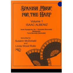 Isaac Albeniz, Spanish music for the harp, vol. 1