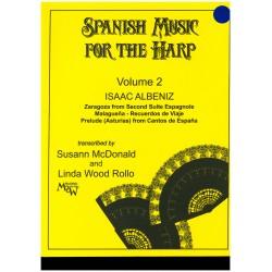 Isaac Albeniz, Spanish music for the harp, vol. 2