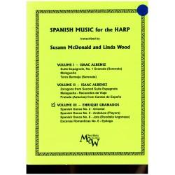 Isaac Albeniz, Spanish music for the harp, vol. 3