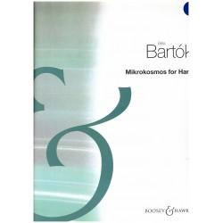 Béla Bartók, Mikrokosmos for harp