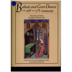 Ballads and Court Dances of the 16th and 17th centuries