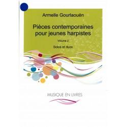 Armelle Gourlaouën, Pièces contemporaines pour jeunes harpistes, vol. 1