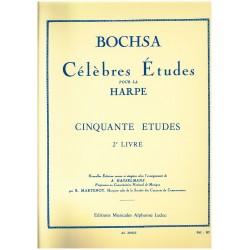 Nicola-Charles Bochsa, Cinquante études (2e livre)