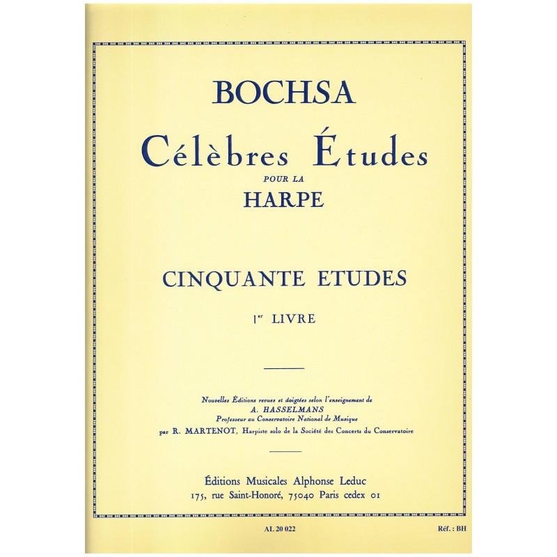 Nicola-Charles Bochsa, Cinquante études (1er livre)