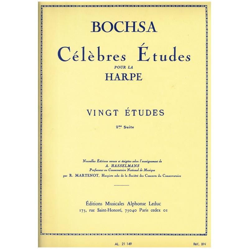 Nicola-Charles Bochsa, Vingt études (2e suite)