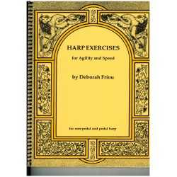 Deborah Friou, Harp Exercises for Agility and Speed