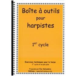 Eve Delcambre, Boîte à outils pour harpiste (1er cycle)