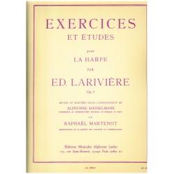 Edmond Larivière, Exercices et études