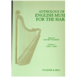 David Watkins, Anthology of English Music for the Harp, Vol. 1