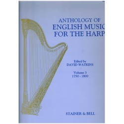 David Watkins, Anthology of English Music for the Harp, Vol. 3