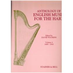 David Watkins, Anthology of English Music for the Harp, Vol. 4