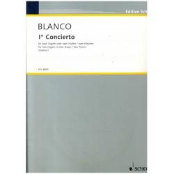 Blanco, 1e Concierto