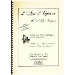 W. A. Mozart, 2 Airs d'Opéras