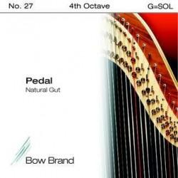 G - SOL 27 octave 4 boyau
