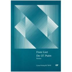 Franz Liszt, Der 137. Psalm