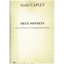André Caplet, Deux sonnets