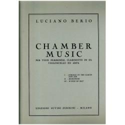 Luciano Berio, Chamber Music