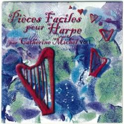 Catherine Michel, Pièces faciles pour harpe, vol 1