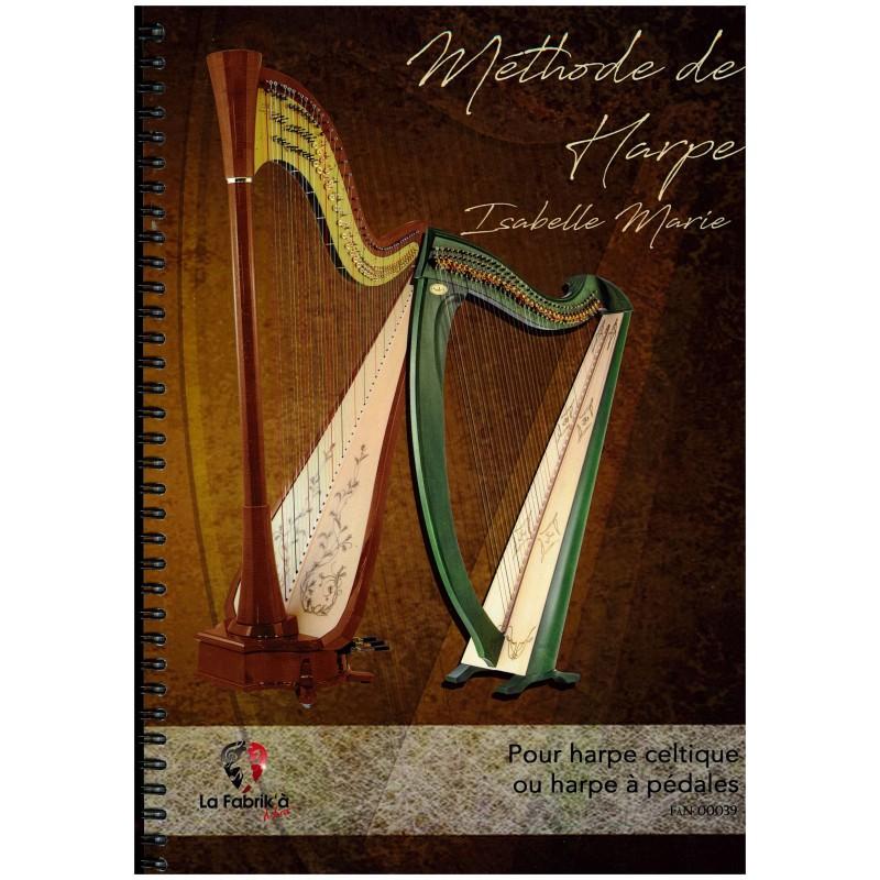 Isabelle Marie, Méthode de harpe