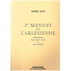 Georges Bizet, 2ème menuet de l'Arlésienne