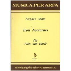 Stephan Adam, Trois nocturnes
