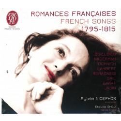 Sylvie Nicephor, Romances françaises