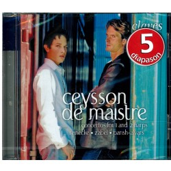 Ceysson, De Maistre, Concertos for 1 and 2 harps