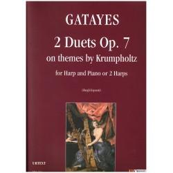 Krumpholtz, Gatayes, 2 Duets, Op. 7