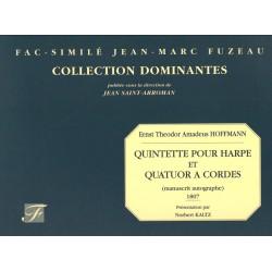 Ernst Theodor Amadeus Hoffmann, Quintette pour Harpe et Quatuor à cordes