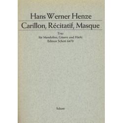 Hans Werner Henze, Carillon, Récitatif, Masque