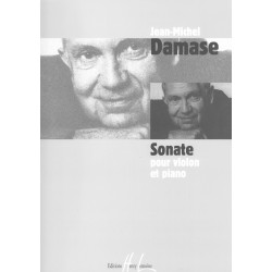 Jean-Michel Damase, Sonate pour violon et piano