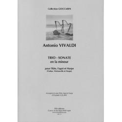 Antonio Vivaldi, Trio - Sonate en la mineur