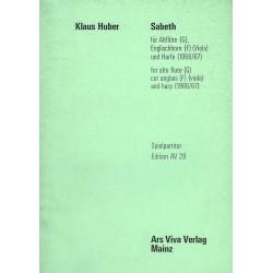Klaus Huber, Sabeth