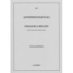 Antonino Pasculli, Omaggio a Bellini