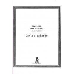 Carlos Salzedo, Sonata for Harp and Piano