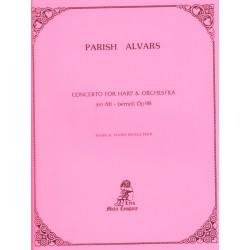 Parish Alvars, Concerto for Harp & Orchestra, Op. 98