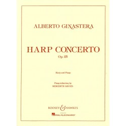 Alberto Ginastera, Harp Concerto, Op. 25