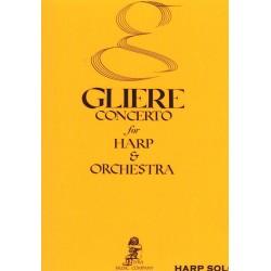 Glière, Concerto for Harp & Orchestra