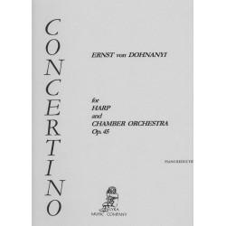 Ernst von Dohnanyi, Concerto