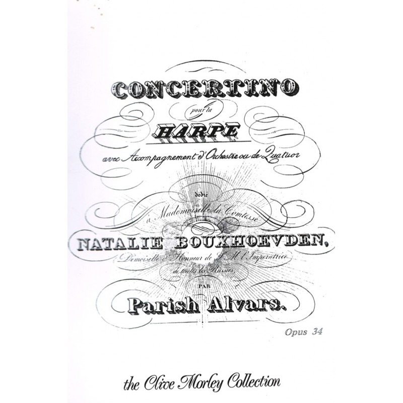 Parish Alvars, Concertino pour la Harpe, Op. 34