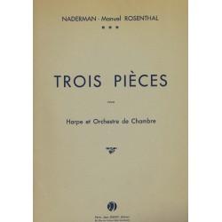 Naderman - Manuel Rosenthal, Trois Pièces