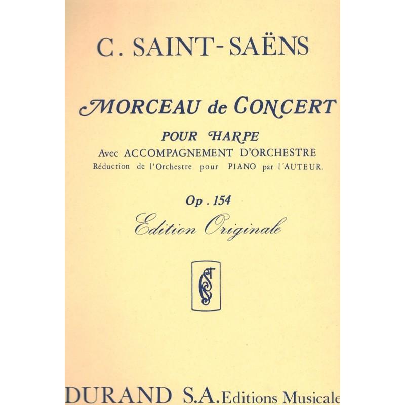 C. Saint-Saëns, Morceau de Concert, Op. 154