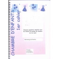 Mariannig Larc'hantec, CHAMBRE D'enfants 1er cahier