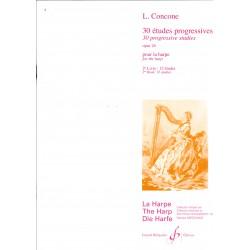 Louis Concone, 30 études progressives