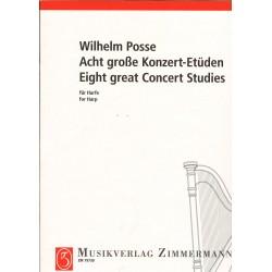 Wilhelm Posse, 8 études de concert