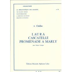 Annie Challan, Laura, Cascatelle, promenade à Marly