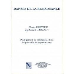 claude Gervaise, Danses de la Renaissance